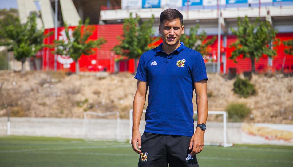 Gonzalo Romero va començar a arbitrar amb 14 anys i amb 25 ha aconseguit pujar a Segona B.