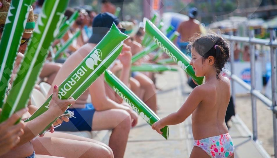 El campionat de vòlei a l'Arrabassada