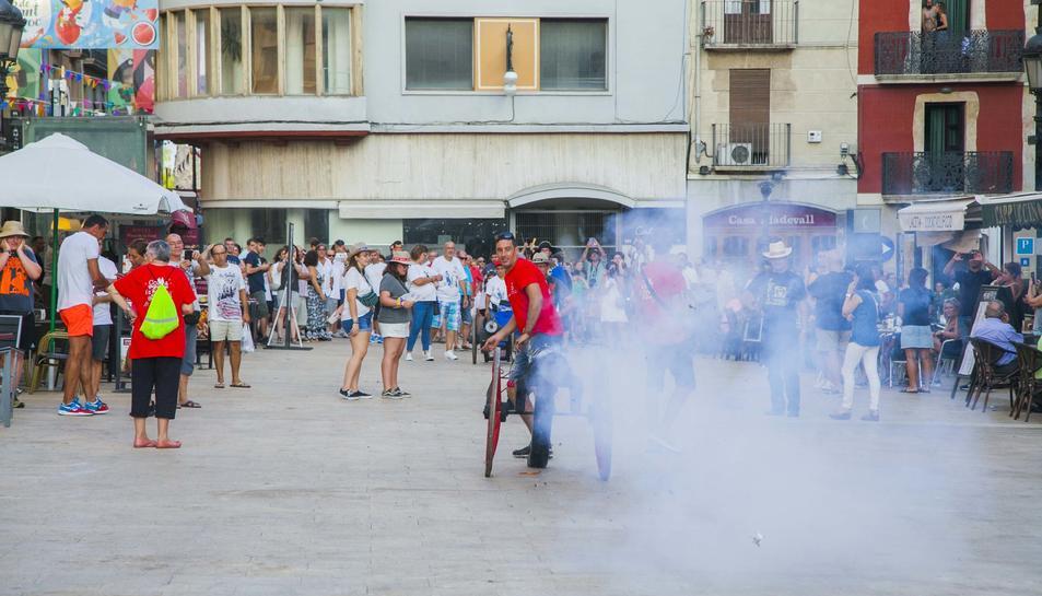 Cercavila de canons a les festes de Sant Roc 2019