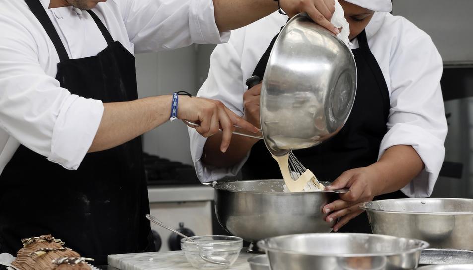 Els interns s'han pogut formar com a auxiliar de cuina, cambrer de restaurant i cambrer de pisos, entre d'altres.