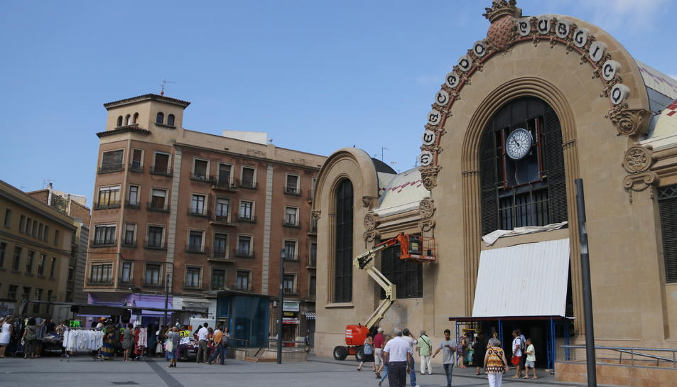 Imatge d'arxiu del Mercat Central de Tarragona.