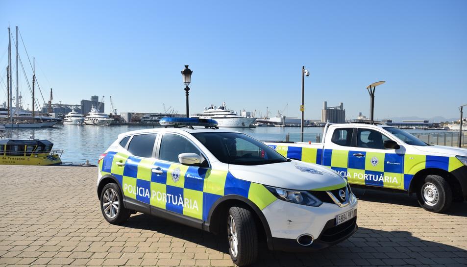 La Policia Portuària ha identificat els autors gràcies a les càmeres de seguretat.