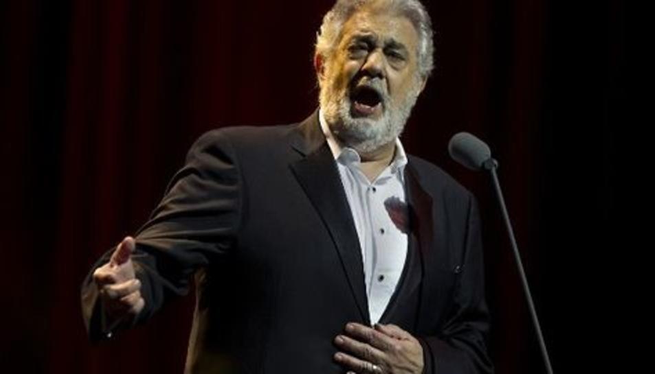 Imatge d'arxiu de Plácido Domingo.
