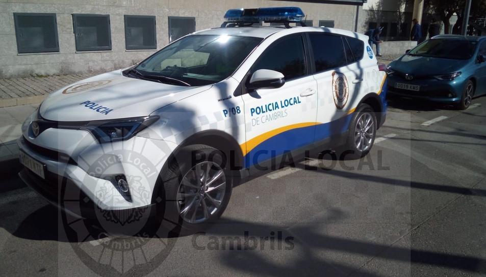 Imatge d'una patrulla de la Policia Local de Cambrils.