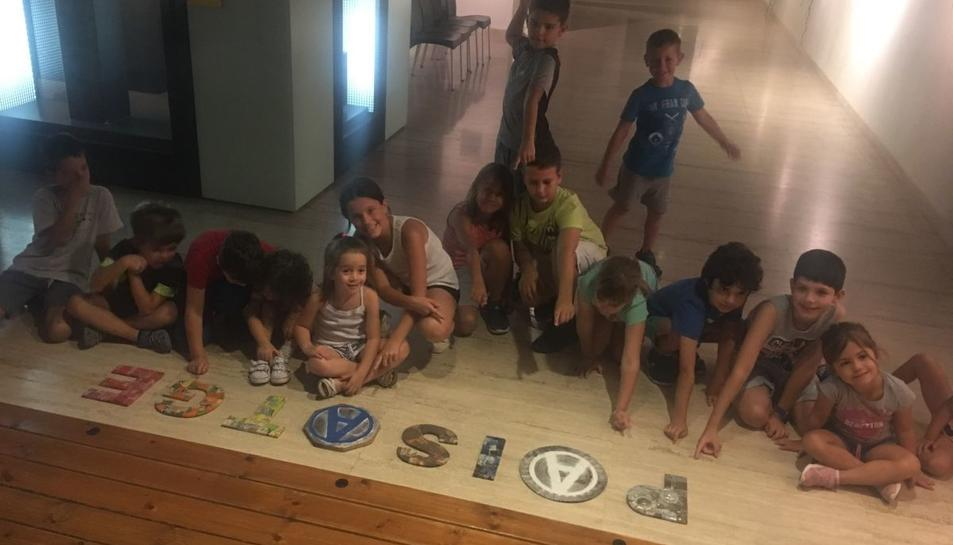 L'activitat està adreçada a nens d'entre 4 i 8 anys.
