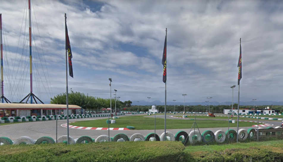 Imatge del Karting Salou, on s'ha produït l'accident.
