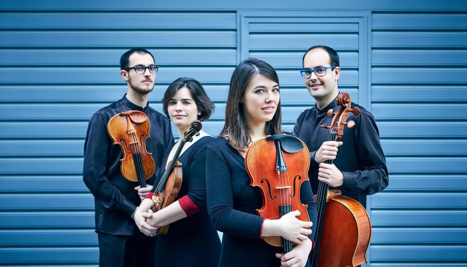 Cosmos Quartet vas ser el guanyador de la 13a edició del Premi BBVA de Música de Cambra Montserrat Alavedra.