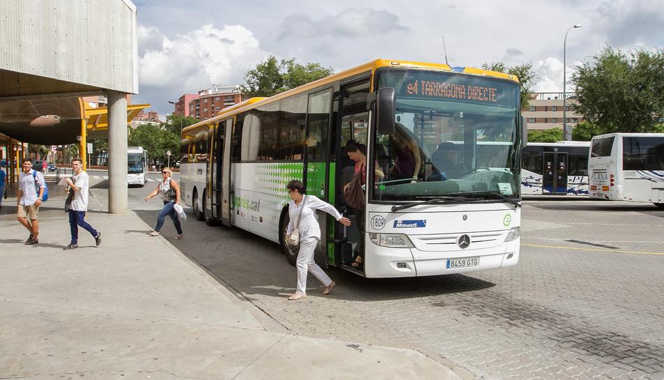 Imatge d'arxiu de l'estació de busos de Reus.