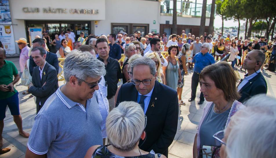 Cambrils homenatja les víctimes dels atemptats dos anys després