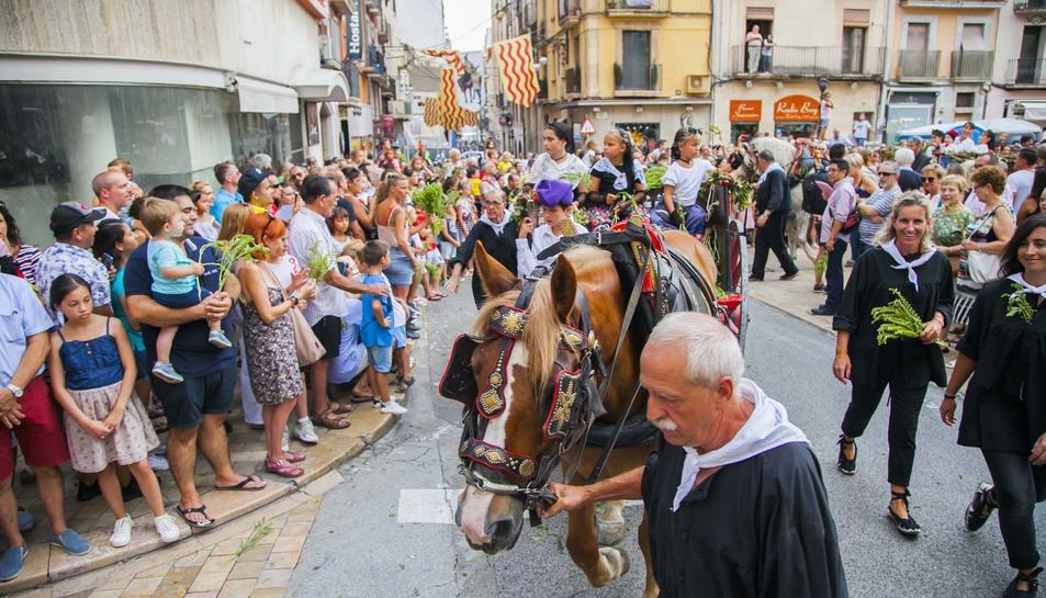 Llegada del Aigua de Sant Magí a Tarragona