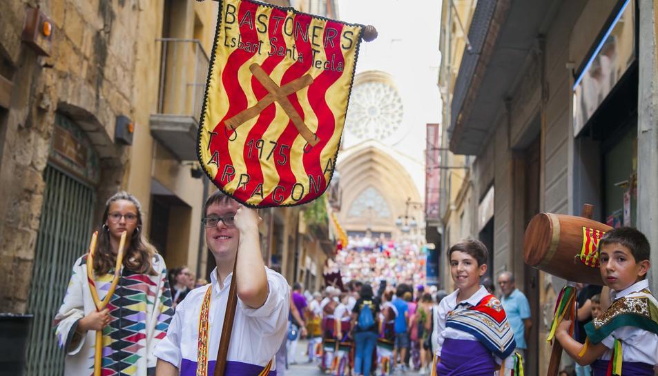 Arribada de l'aigua de Sant Magí a Tarragona