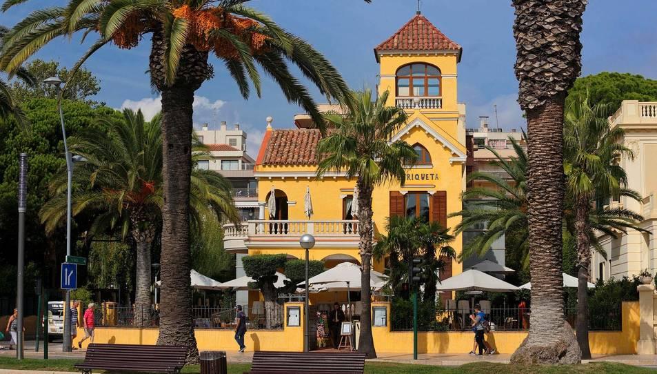 Imatge d'arxiu del Xalet de Villa Enriqueta, ubicat al passeig de Jaume I.