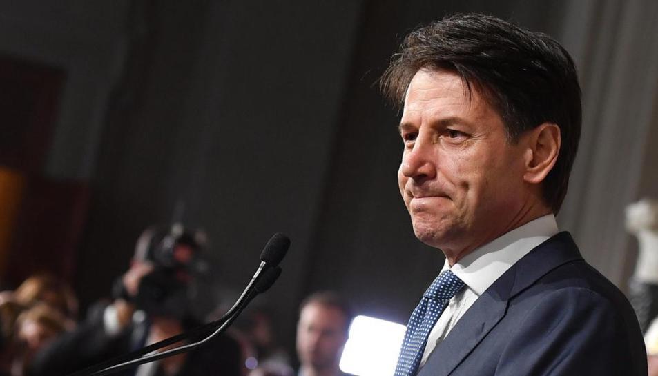 Giuseppe Conte, exprimer ministre del Gobierno de Italia.