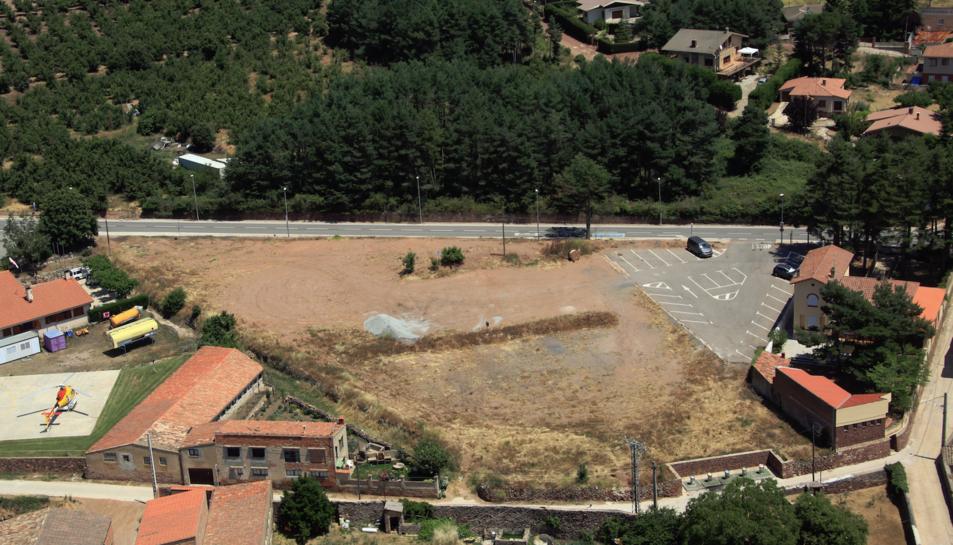 El complex residencial s'ubicarà a la sortida del poble direcció Montblanc – Vilanova de Prades.