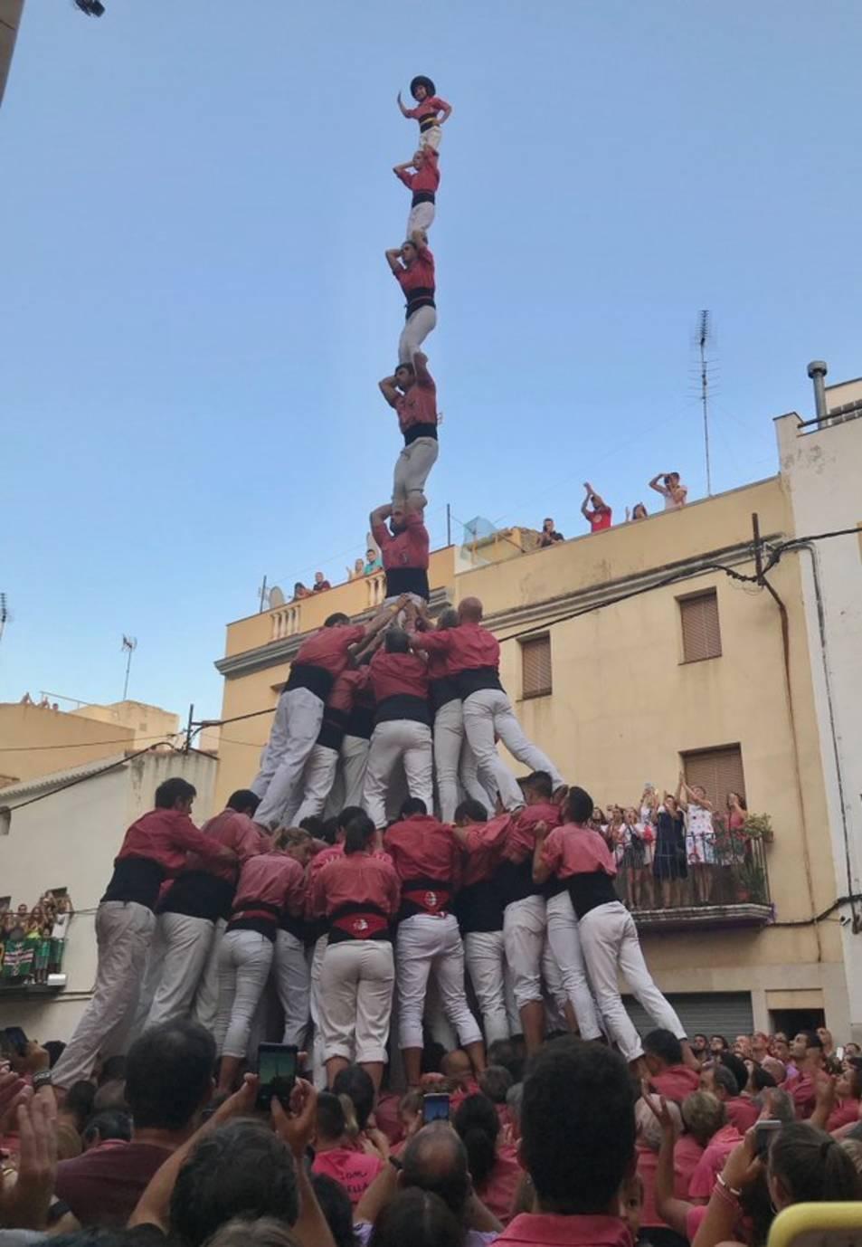 El pilar de 8 emmanillat de la Vella de Valls.