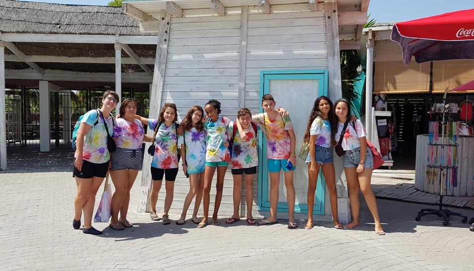 Els adolescents del Morell també han pogut gaudir d'activitats amb l'Espai Jove d'Estiu.