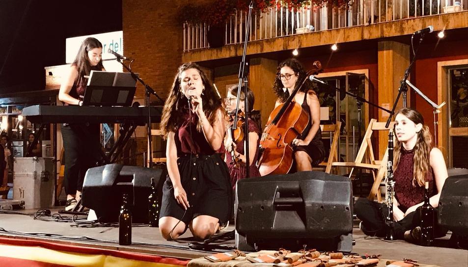 Sommeliers va amenitzar amb la seva música la Festa de la Verema.