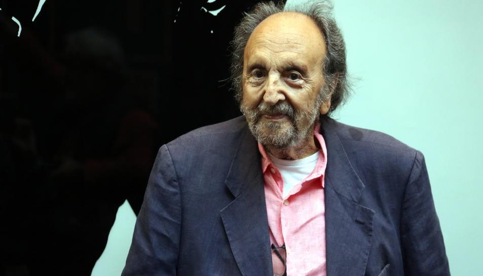 El fotògraf Leopoldo Pomés després de presentar el llibre 'No era pecat', l'11 de juny del 2019.