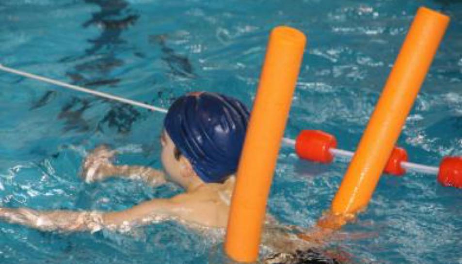 Els cursos de natació es distribueixen per grups d'edat i nivell: nadons, iniciació de primer nivell, iniciació de segon nivell, perfecció, cursos d'adults i aiguagim.