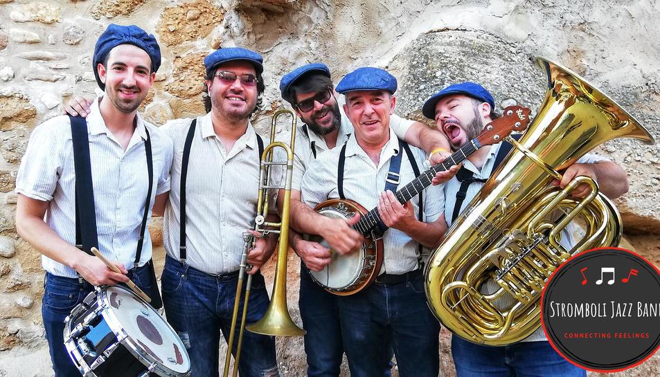 Imatge promocional de la Stromboli Jazz Band.