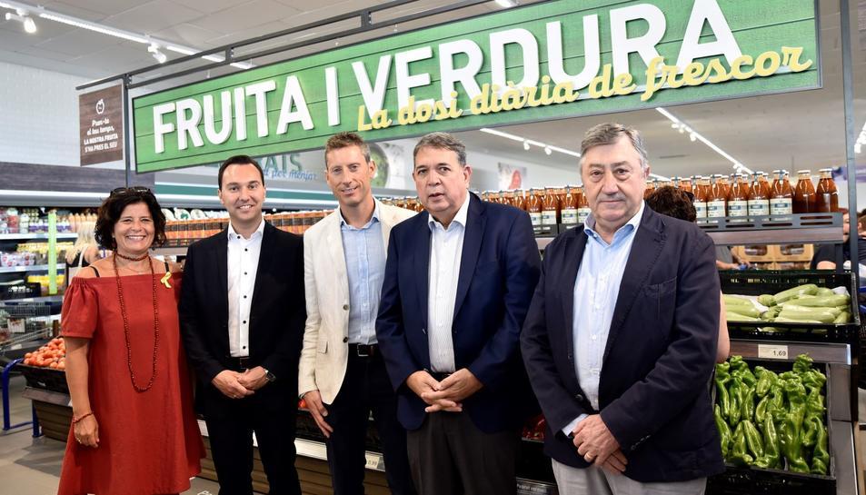 Imatge de la inauguració de la nova botiga Aldi a Reus.