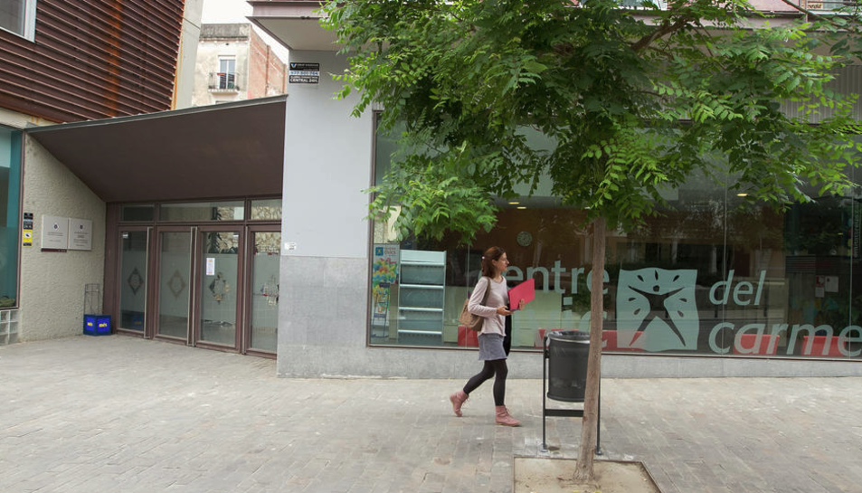 Imatge d'arxiu del Centre Cívic del Carme.
