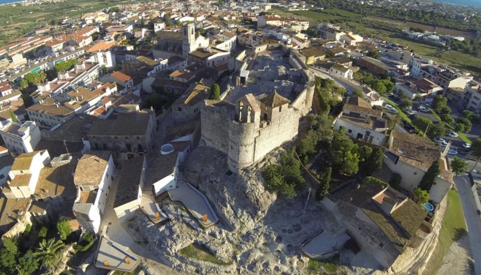 Imatge del Castell de Santa Creu de Calafell.
