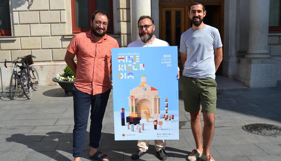 El cartell ha estat dissenyat pelsfotògrafs Ferran Estivill i Martí Sans.