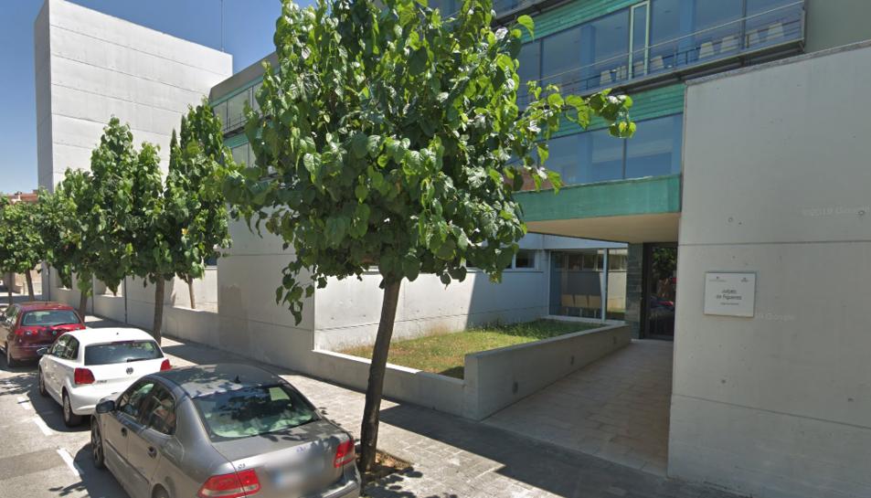 Imatge d'arxiu dels jutjats de Figueres.