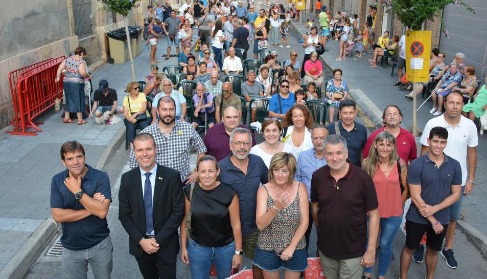 Pau Ricomà en la inauguració de les festes del Port.
