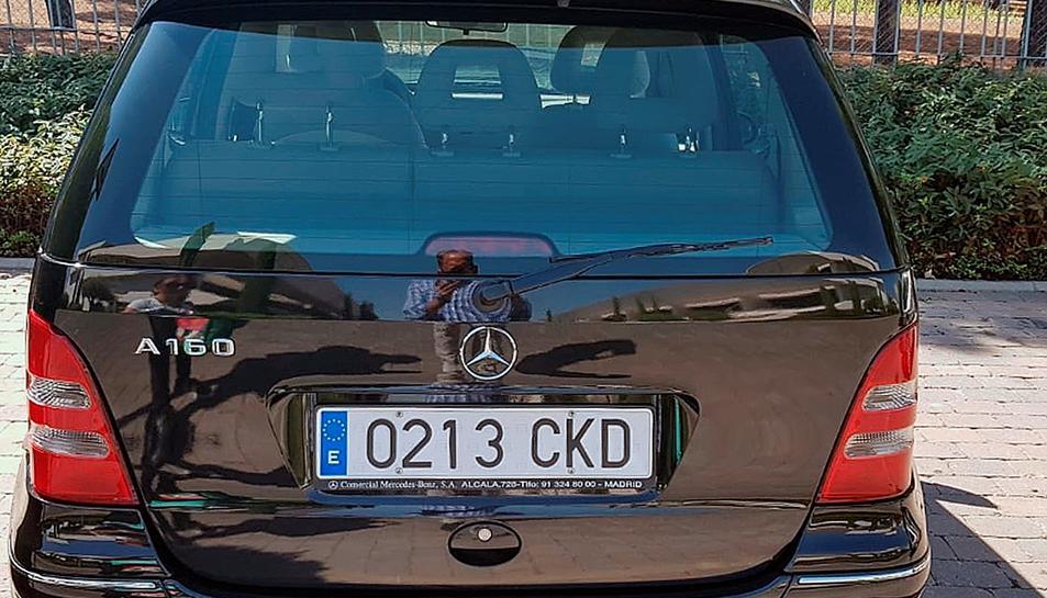Imatge del vehicle localitzat.
