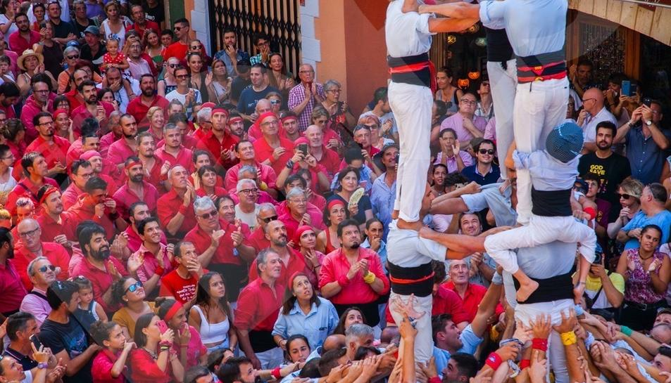 Diada castellera de Santa Rosalia a Torredembarra (I)