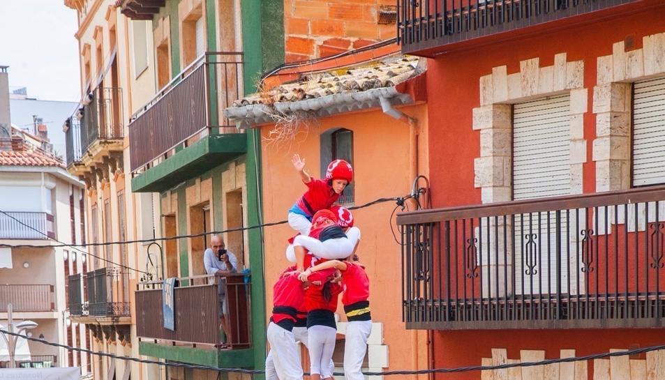 Diada castellera de Santa Rosalia a Torredembarra (II)