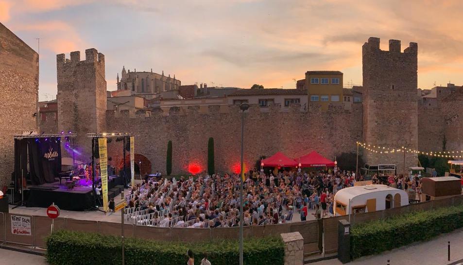 Imatge del públic al festival Essències de Montblanc.