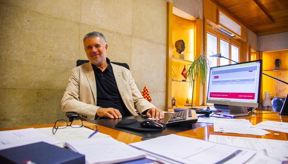 Ricomà va ser investit alcalde de Tarragona el dia 15 del passat mes de juny, convertint-se en el primer de caràcter independentista de l'era democràtica.