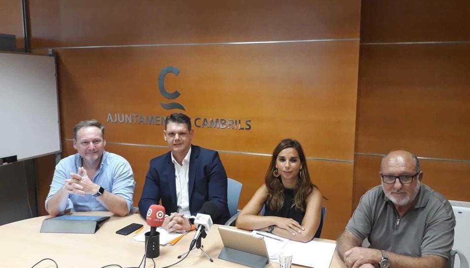 Els representants de l'oposició a Cambrils