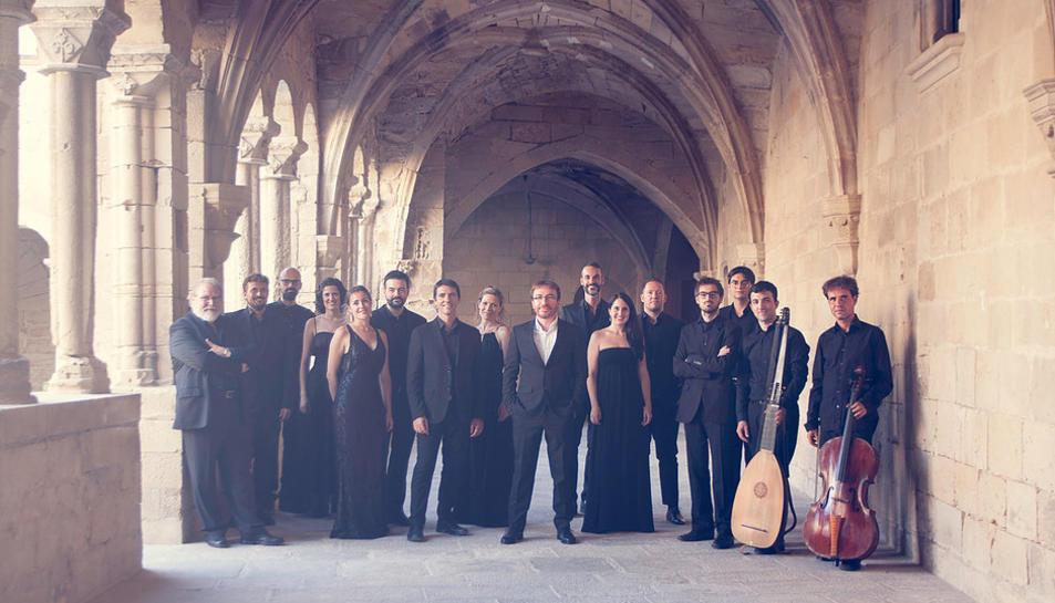Membres de la formació Esemble o vos Omnes que actuarà a la catedral el 22 de setembre.