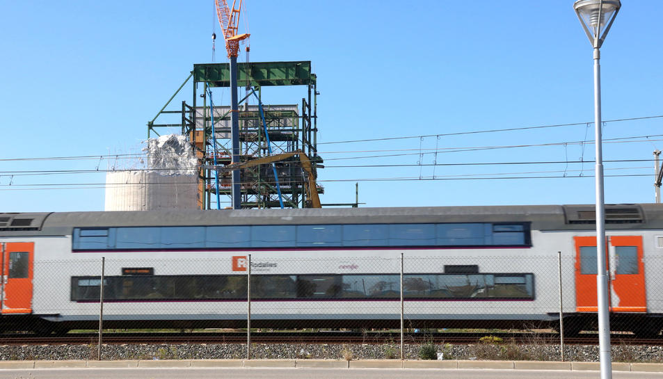 Imatge d'arxiu d'un tren de Rodalies.