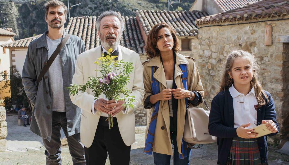 Una imatge del film 'Vivir dos veces'.