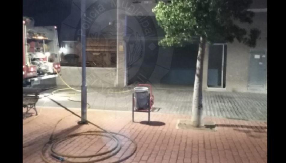 L'immoble on va tenir lloc l'explosió