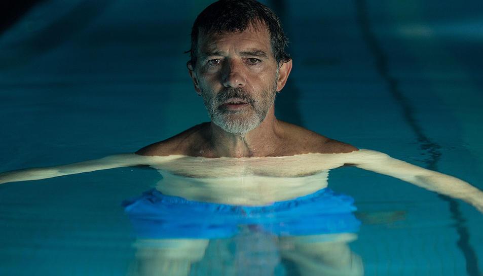 Una imatge del film 'Dolor y gloria' amb Antonio Banderas