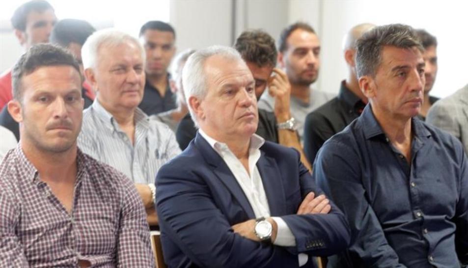 Javier Aguirre y Antonio Prieto deberán dar explicaciones ante el juez. Foto: EFE