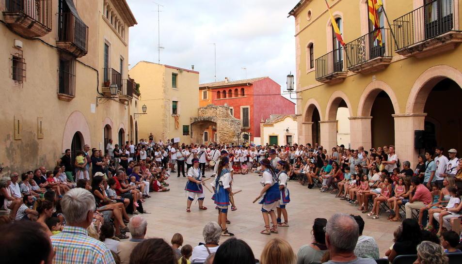 Imatge de la Festa Votiva del Quadre de Sant Antoni d'Altafulla que comença aquest cap de setmana.