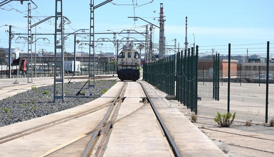 L'objectiu del Port de Tarragona és arribar a implantar un sistema ferroport eficient i competitiu.