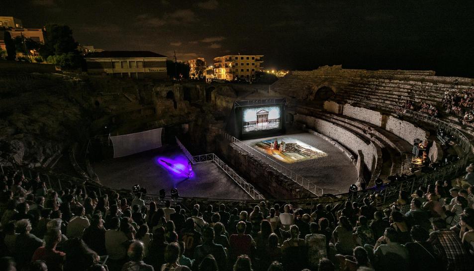 L'espectacle, disponible en quatre idiomes, recrea la història de la Tarragona romana.