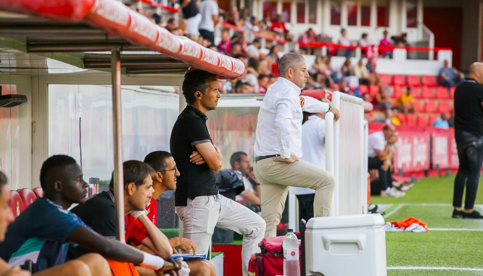 Xavi Bartolo no va entendre què estava succeint al camp.