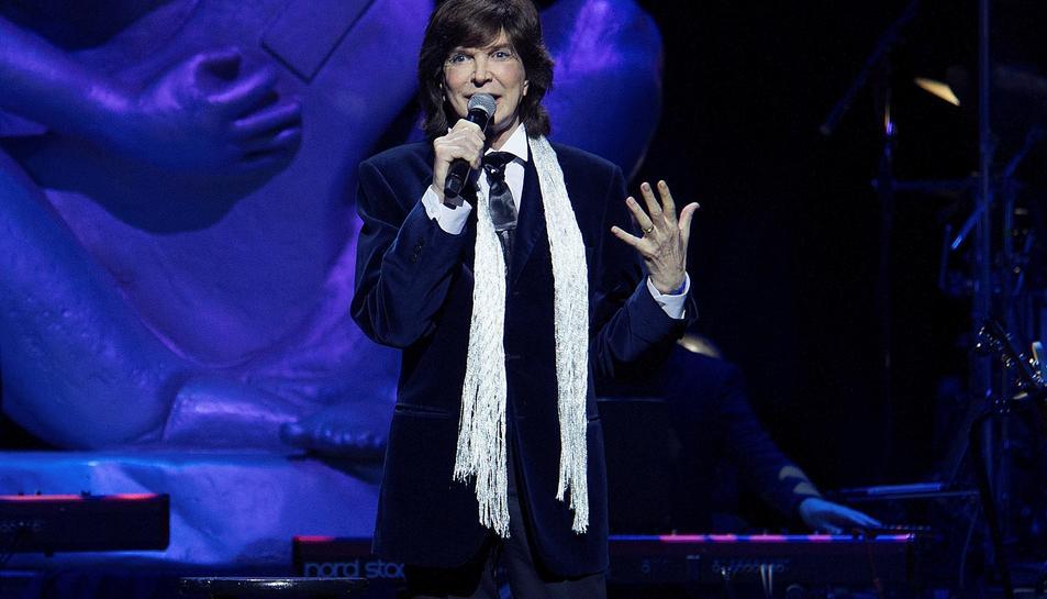 Imatge d'arxiu del cantant.