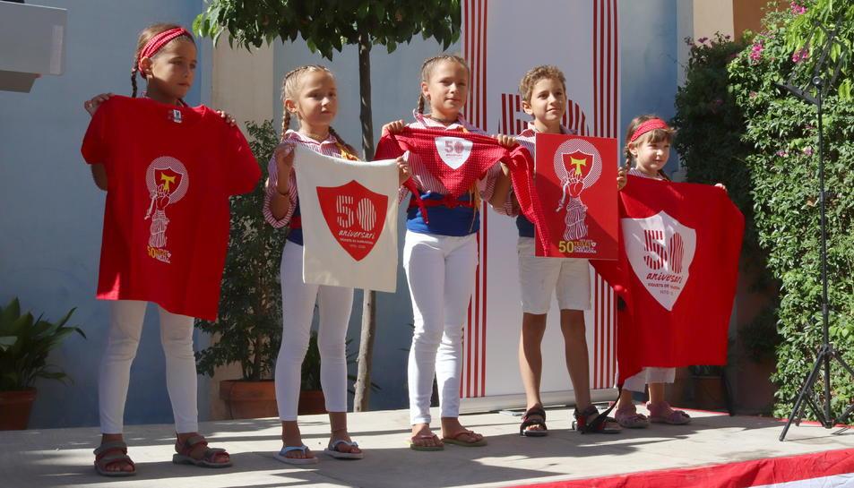 Imatge de la festa celebrada a la Casa Canals.