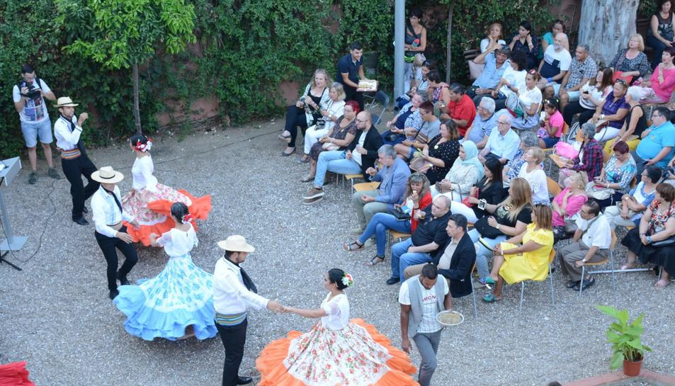 Imatge de l'acte del dissabte a Casa Canals.