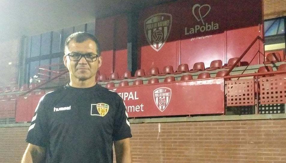 L'Àngel García és el nou segon entrenador del CF Pobla de Mafumet.